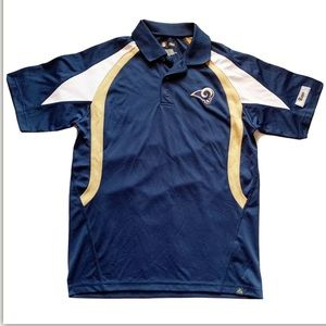 St. Louis Rams Med Men's NFL Apparel Pullover Polo